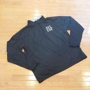 Black Sport-Tek 1/4 Zip Sweatshirt - EUC